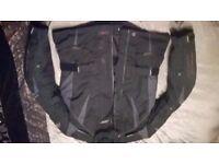 RST motorbike jacket size small but big fitting