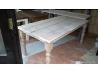 HAND MADE COFFEE/DINING TABLES,BEDS,DRESSERS,TV UNIT,SIDEBOARD,GARDEN&PATIO BENCHES FROM £49 SEE AD