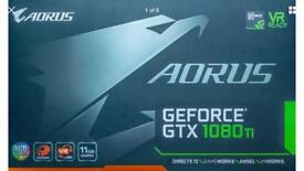 Gigabyte aorus Gtx 1080 ti Graphics Card