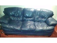 Reid's 3 + 2 Leather suite - FREE!!