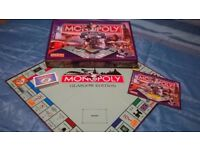 MONOPOLY GLASGOW EDITION BOARD GAME FOR SALE.