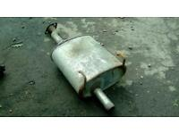 Honda civic 3 Dr standard backbox exhaust pipe