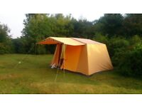 VINTAGE CANVAS 4 BERTH TENT