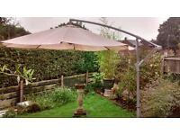 Garden Large parasol 3 Metres