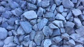 Grey decorative pebbles 1 very large bag