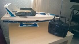 Radio Controlled Model Boat. Ripmax Interceptor Ultra.