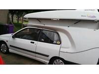 Renault Clio sportique Campervan