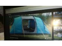 selling 4 man tent,in used condition,complete with poles