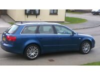 Audi A4 Avant with full cream leather interior. Perfect family car! house purchase forces sale