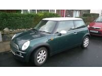 BMW Mini One 1.6 with Pepper Pack 04 Plate