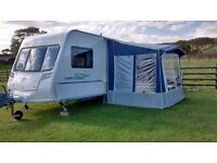 Touring caravan Porch Awning - Ventura (Isabella) Cadet, good condition, incl accessories