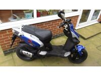 PGO 50cc Naked 2007 (57 plate) 2 Stroke Moped