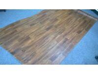 Vinyl / lino flooring wood effect