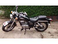 Suzuki Marauder. 124 cc. Low mileage. Great learner bike. Good for commuting. Low seat.