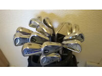 JOBLOT MIZUNO GOLF CLUBS, ALL 6 IRONS, DIFFERENT SPECS