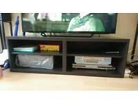 Wooden IKEA TV Bench in Dark Brown