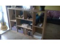 room divider or bookshelf