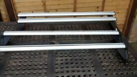 to sets of genuine roof bars for vauxhall meriva up to year 2009 1 hook & 1 screw fitting