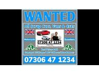 ♻️🇬🇧 SELL MY CAR VAN 4x4 CASH ON COLLECTION SCRAP DAMAGED NON RUNNING WANTED LONDON Ff
