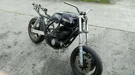 Yamaha xjr 400 cafe racer project