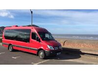 17 seater executive mini bus hire with driver for any occasion call mr Gill 07812701482
