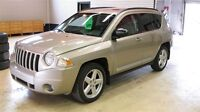 2010 Jeep Compass Limited W Htd Leather seats, Sunroof
