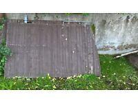 Metal box iron wooden gates