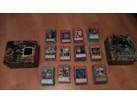 1000+ Yu-Gi-Oh! Cards with 2 tins
