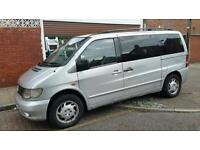 Mercedes Vito V class 7 seater campervan