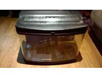 INTERPET 64L FISH POD TANK WITH ACCESSORIES ++NOW SOLD++