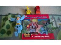 bob the builder bundle vehicles, book, transformer bob drill