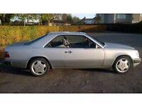Mercedes pillarless coupe 230ce 12mth mot No Rust cheap insurance retro classic