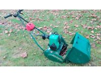 Qualcast Suffolk Punch Self-Propelled Stripes Lawnmower
