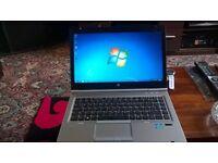 "HP Elitebook 8470p i5 laptop 15"" 3rd gen intel i5"