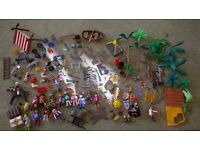 Playmobil pirate and viking toys - various as seen in pictures