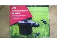 Rechargeable air pump, 4.8V