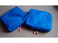 2 Kaikoo Bean Bag Slabs (Blue)