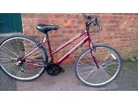 ladies apollo cx.10 bike 700 wheels