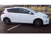 Toyota Auris 1.8 VVTi Hybrid Icon Hatchback Sat Nav, Full Toyota Service History, Air Con