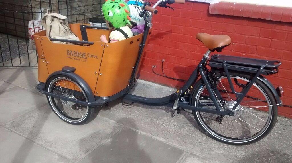 Babboe E Curve Cargo Bike Bakfiets In Gabalfa Cardiff Gumtree