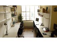 LARGE Bright Desk in NETIL HOUSE creative space in BROADWAY MARKET (inc. bills)