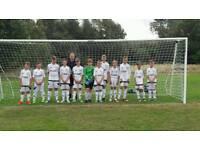 U13s Football team needs players