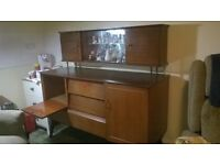 Beautility 50s/60s Sideboard and Top Box, Good Condition.