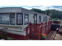 """Willerby Leven Static Caravan Park home 38 x 12 = 2 bed """"off site sale only"""" , Lowestoft,"""