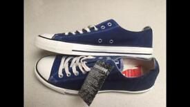 Brand new limited edition two tone Converse size 10