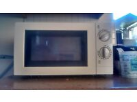 Microwave oven for sale (used) -wythenshawe