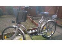 Retro Italian Family Bike, very functional for shopping, city use etc.