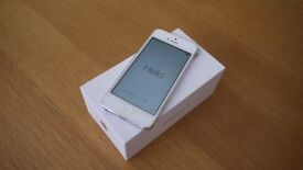 Apple iPhone 5 16 Gb White and Silver Unlocked