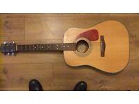 Fender acoustic guitar ,