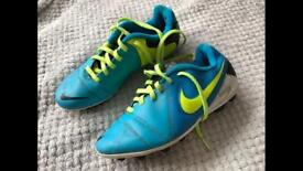 Nike AstroTurf boots size 4